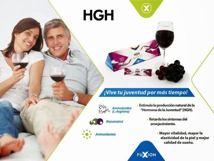 HGH - Estimula la hormona de la juventud