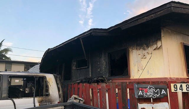 Waipahu Duplex Sustains 320k In Damage From Fire Fire Restoration Cleanup Lincolnwood Elmwood Park Oak Park Riverside Il Ht Duplex Smoke Damage Lincolnwood