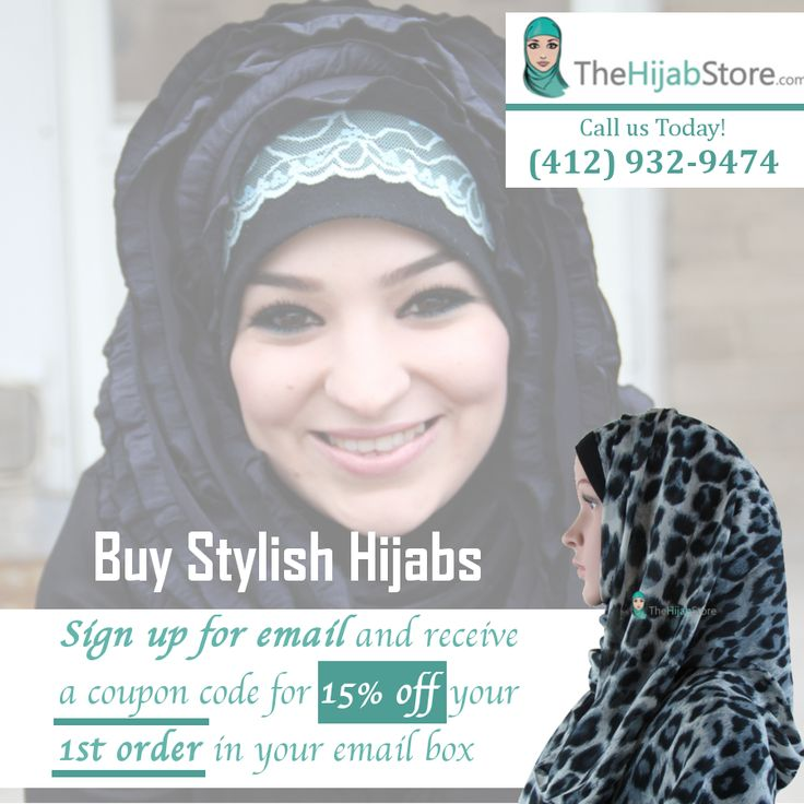 Modern, Neat, and Stylish Hijabs Waiting for You - Buy modern, neat, and stylish hijabs for yourself or a loved one at The Hijab Store. Use our coupon code and save more. It's a big deal! Click here to know more: http://www.thehijabstore.com/hijab/ #HijabStore #Hijab #Hijabi #HijabPin #US #Hijabs #HijabPins