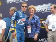 Debbie Stabenow--  Congratulations to Michigan's own Brad Keselowski for winning the Sprint Cup today! It's great to see a Michigan win!