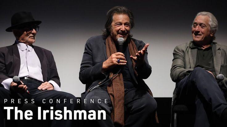 Martin Scorsese Robert De Niro Al Pacino Et Joe Pesci Dans The