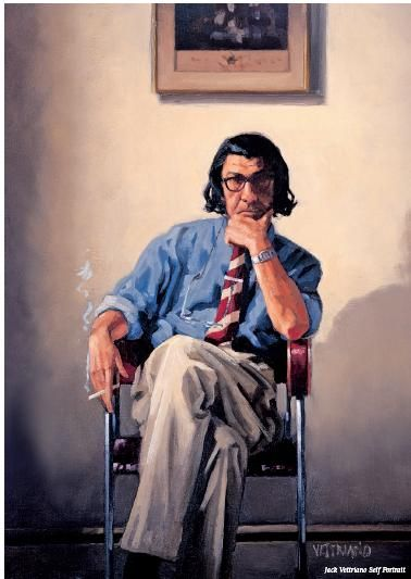 Self Portrait - Jack Vettriano