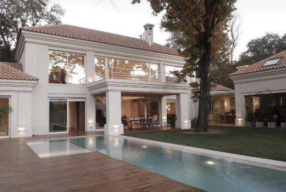 Villa italiana en las afuera de Buenos Aires - Noticias de Arquitectura - Buscador de Arquitectura
