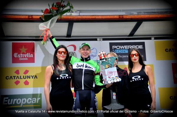 @Team Belkin @Stefclement http://goo.gl/h5T5fj Celebra  Victoria y liderato de Montaña en Podio #VoltaCatalunya