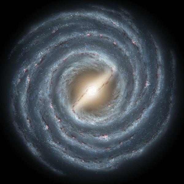 26 отметок «Нравится», 1 комментариев — Astrobitácora (@astrobitacora) в Instagram: «La Vía Láctea es una galaxia espiral barrada entre miles de millones. Pero... ¿qué es lo que hizo…»