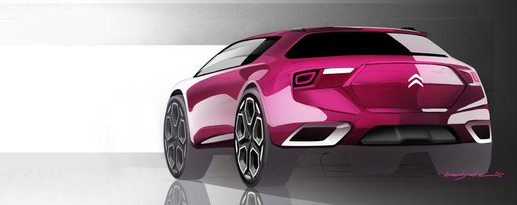 Citroen suv #cardesign #Citroen # # sketch automotive design