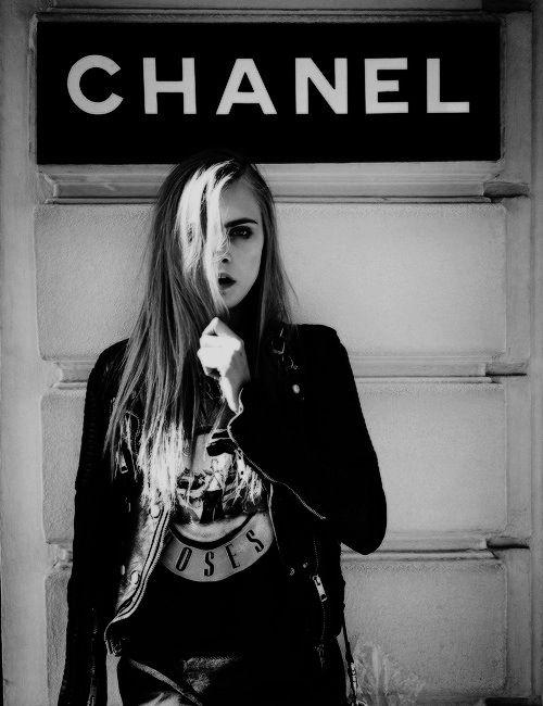 Cara Delevigne @ CHANEL | #chanel, #cara delevigne