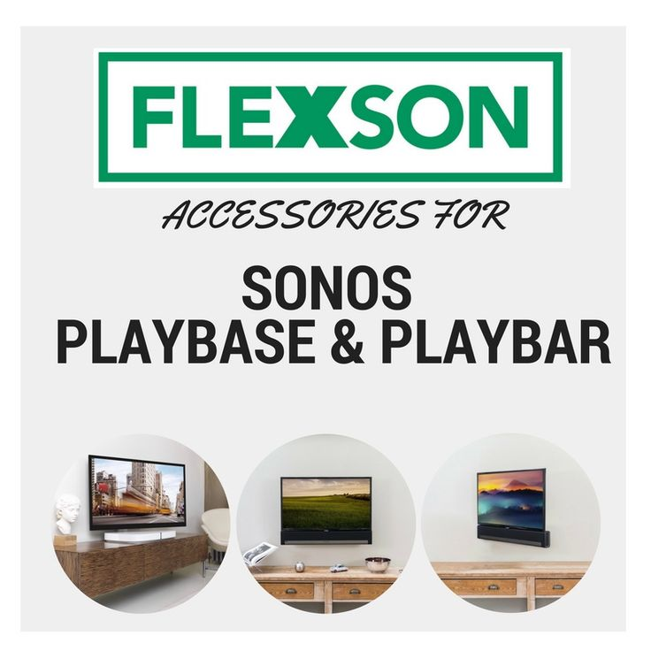 9 best SONOS PLAYBASE/PLAYBAR Accessories images on Pinterest | Flat ...