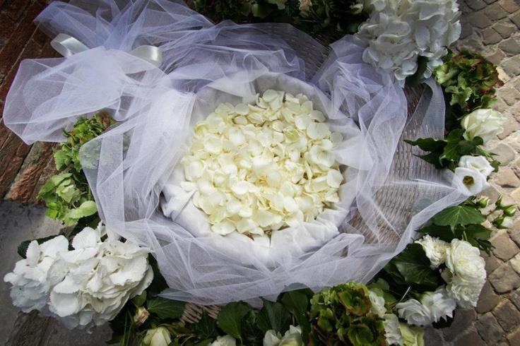 Porta riso e petali