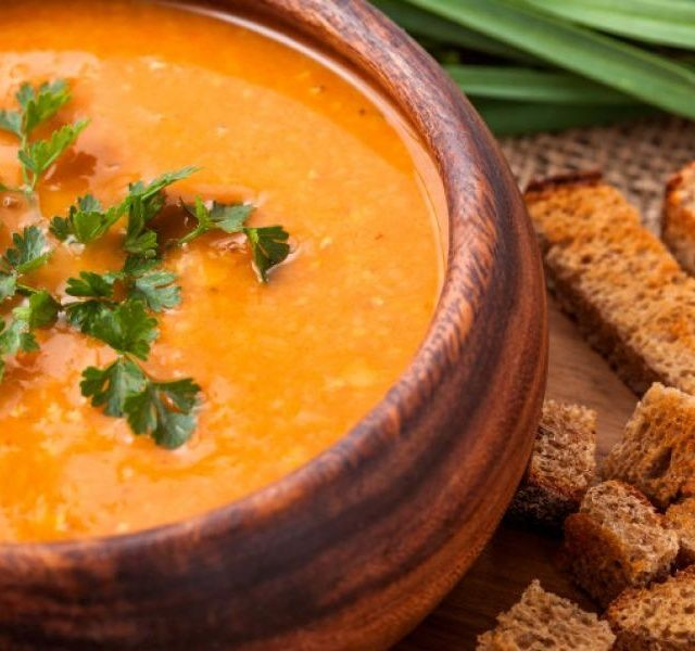 Recept Čočková polévka s kari