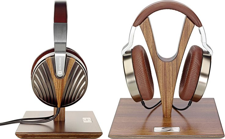 The Ultrasone Edition 10 Headphones ($2,750) come with eye-popping looks and sound to match their price, featuring open-back ear cups with galvanic Ruthenium plating and a Zebrano wood inlay