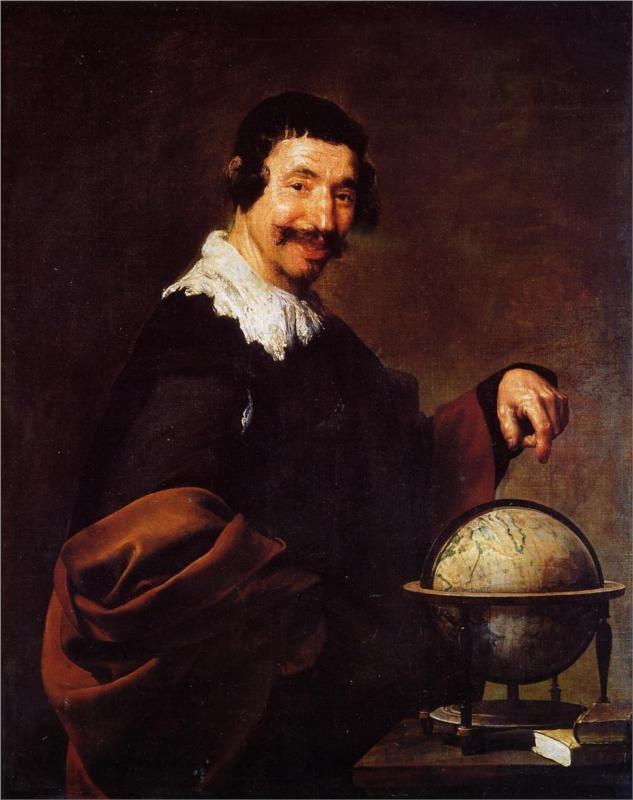 Democritus - Diego Velazquez, 1628-1629