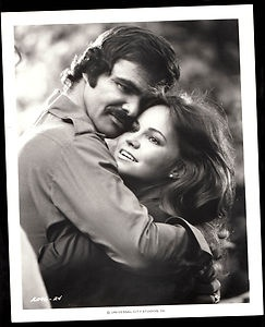 Burt Reynolds and Sally Field, who starred in 'Smokey & the Bandit'. I wanted that Trans Am so bad....!