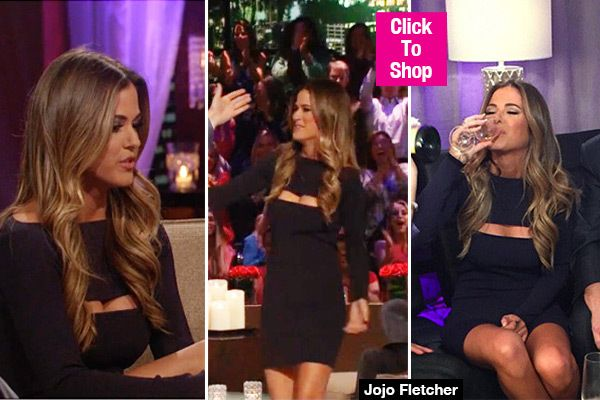JoJo Fletcher's dress on 'After the Final Rose' gave us quite an eyeful, as the new star of 'The Bachelorette' flaunted her cleavage in a skintight dress that featured a very strategic cutout. Did you love or loathe her sexy look for the show? Check it out here and let us know!