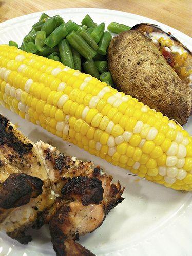 Super Simple Grilled Corn on the Cob - Andrea Dekker