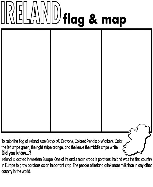 They Were Strong and Good - [ancestry] Ireland coloring page