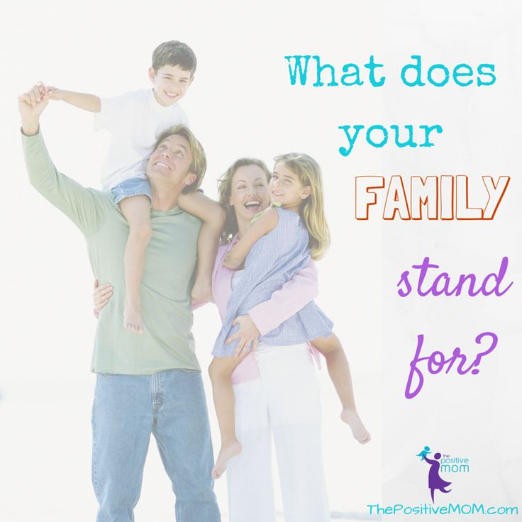 What does your family stand for