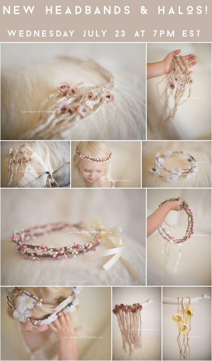 Shop is LIVE! New styles are here! www.babyjoystudios.com | Newborn Photography Props | Baby Joy Studios