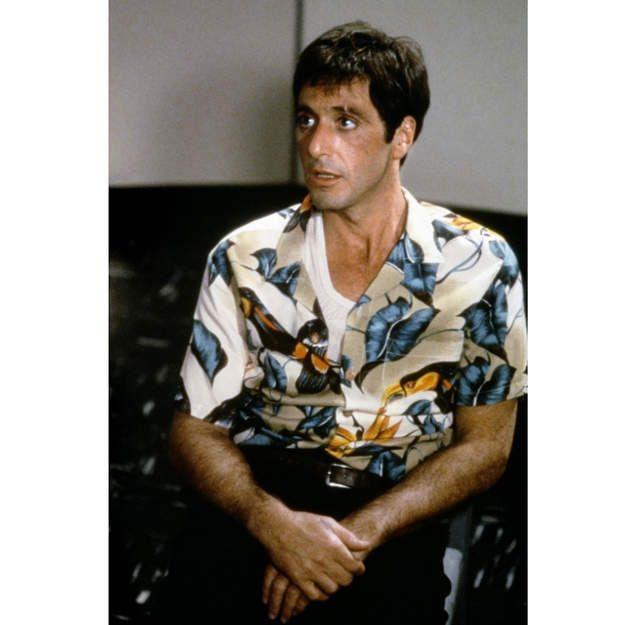 Le Film  Scarface - La chemise hawaïenne dans la pop culture