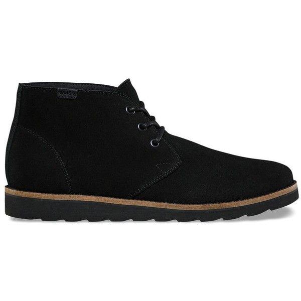 Vans Desert Chukka ($90) ❤ liked on Polyvore featuring men's fashion, men's shoes, men's boots, mens suede chukka boots, mens suede shoes, mens suede boots, mens lightweight snow boots and vans mens shoes