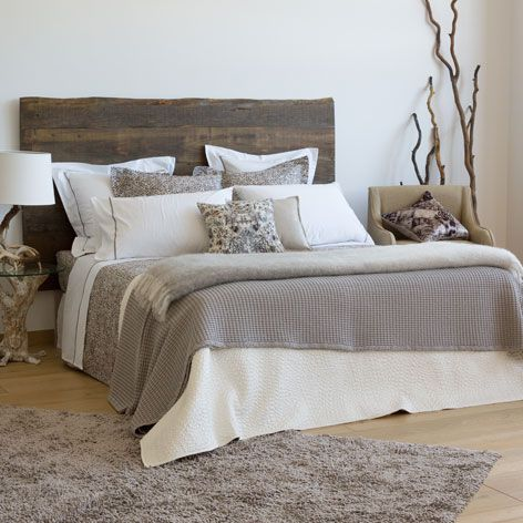 Raised design taupe cotton bedspread - Bedspreads - Bedroom | Zara Home United Kingdom