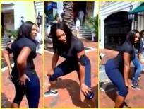Lección de 'twerking' de Serena Williams