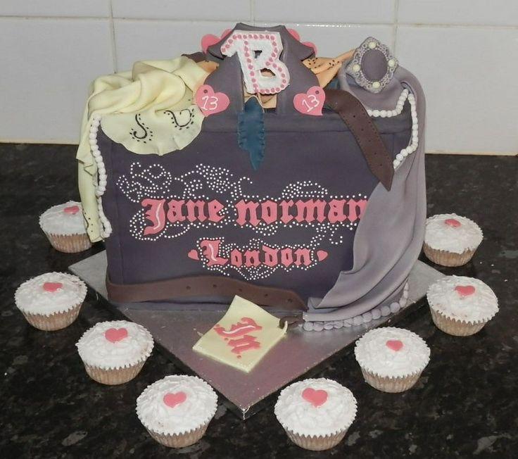 Jane Norman Shopping Bag Cake