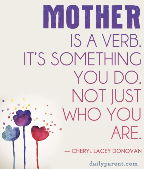 Quote about mom