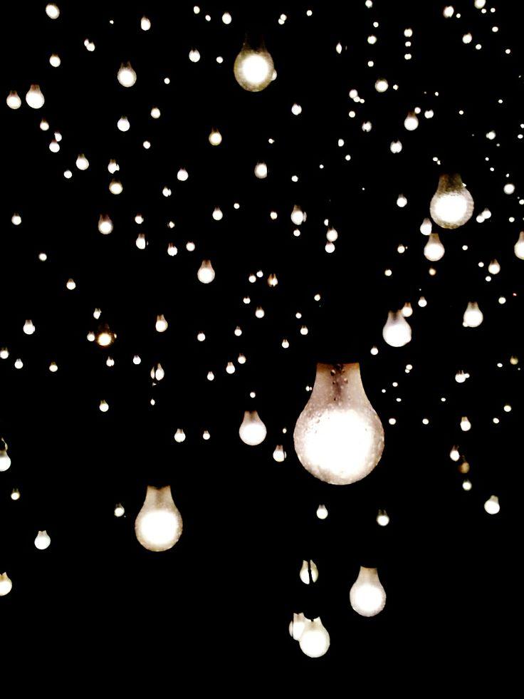 Light bulb art installation photography, Amelia Edwards Photography