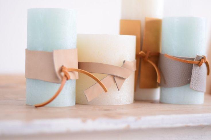 DIY–>cadeautjes van kaarsen maken..!
