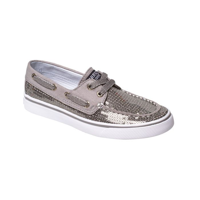 Sperry Top-Sider Bahama Boat Shoe - Pewter $49.95 http://www.