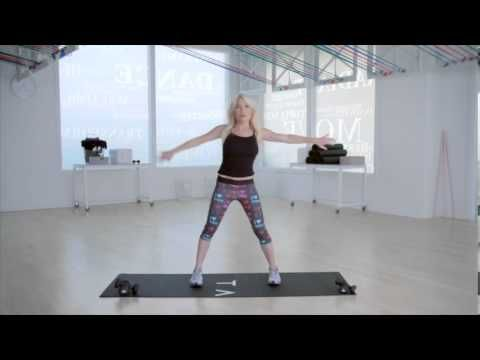 Tracy Anderson How To Lose Arm Fat- I did this, w/o weight portion is more tiring than weight routine - see if you agree.