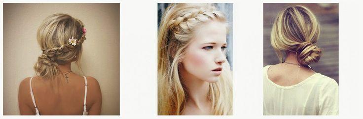 penteados para o verão, summer hairstyle