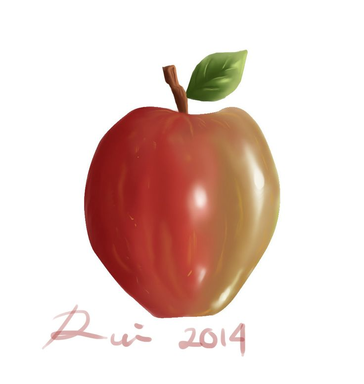 An apple a day, keeps the doctor away.. :)