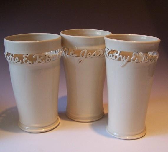 custom vase, wedding gift Gift ideas Pinterest Personalized ...