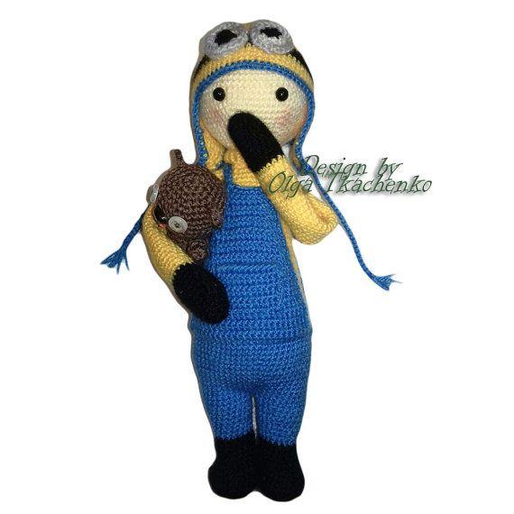 Amigurumi Minion Bob : 1000+ ideas about Minion Doll on Pinterest Diy doll ...