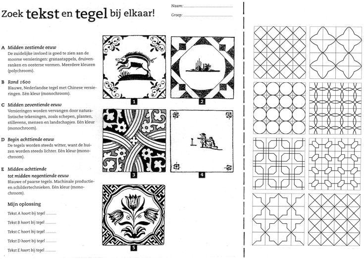 Kleurplaat Kaartjes 32 4 Extensie Bij Voorwerpen Van Vroeger Werkblad Tekst