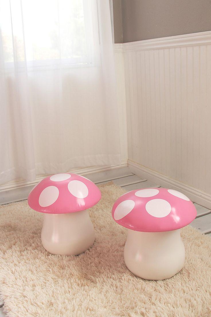 Diy mushroom chair - Heart To Heart Mushroom Chairs Set Of 2