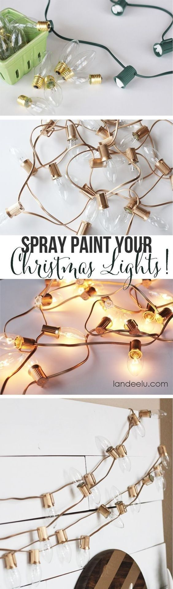 Christmas decoration ideas for apartments - 33 Awesome Diy String Light Ideas Apartment Christmas Decorationsholiday