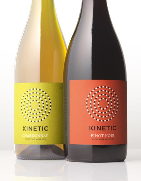 Kinetic - France Georges Duboeuf Wine Label & Package Design