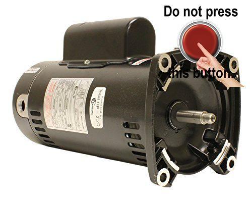 #bigsavings Pool motor, #50-Degree C #ambient temperature, 303 stainless steel threaded shaft.