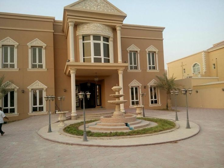 Villa for sale in Al Khawaneej _Dubai 2 floors on 5 master rooms Women's Council + Mens Council Salon + 2 kitchen + 1 kitchen preparation in the upper floor External supplements 2 bedrooms Laundry Room Outdoor Kitchen Garden + fountain + brakan cars The building is 3 years old and has full maintenance The total area is 15,000 feet Marked with new brushes not yet used For details please contact on 00971556874828