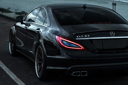Certified Bossluxury    CLS63 Benz via HRE    Bad mans ride for real