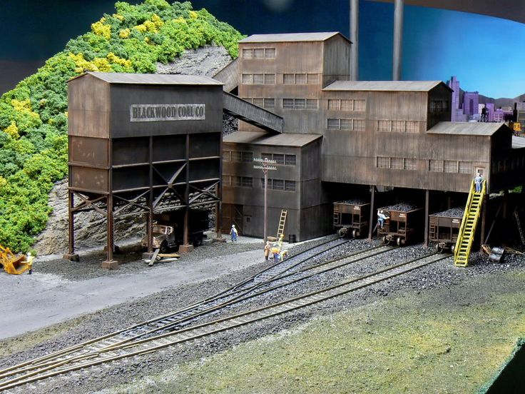 model railroad coal mine examples  Share this post on