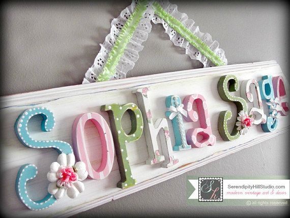20 best baby names images on pinterest baby girl names baby custom name plaque made to order wall par serendipityhillshop negle Images