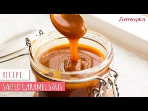 Basisrecept: salted caramel - Zoetrecepten