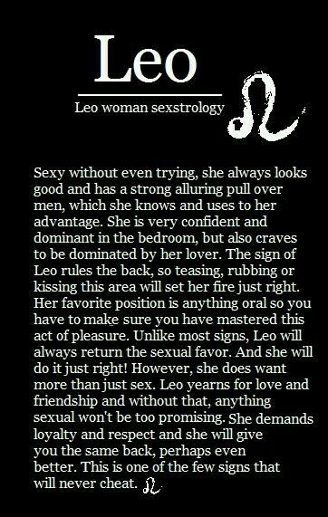 Things to say to a leo woman