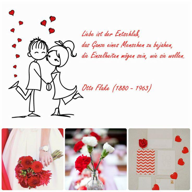 lusitge Hochzeitskarten im Rot