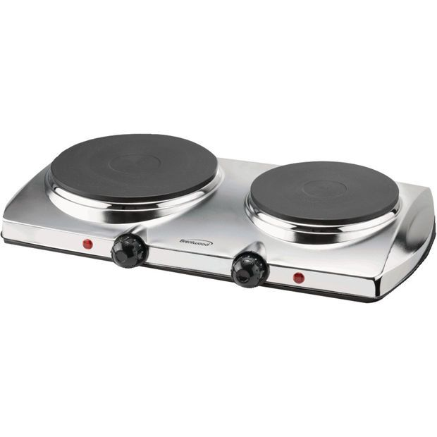 Brentwood 1440-watt Electric Double Hot Plate