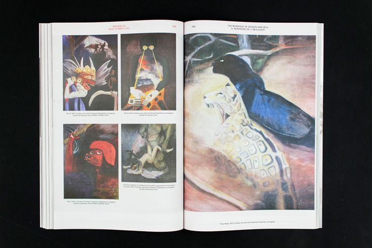 Mousse Magazine #53 ~ #jillmulleady #nicetomeetyou #andrewberardini  #art #contemporaryart #magazine #moussemagazine